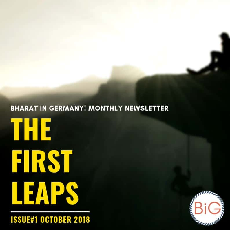 BiG Newsletter First Issue October 2018