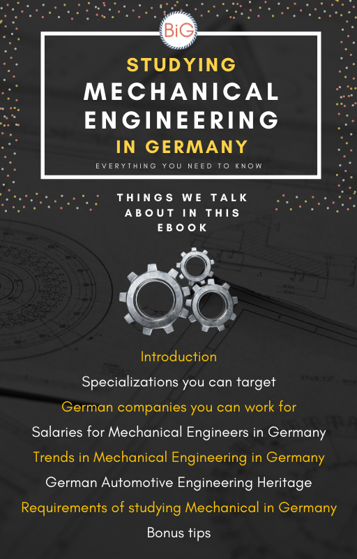 mechanical engineering is a high demand job in Germany